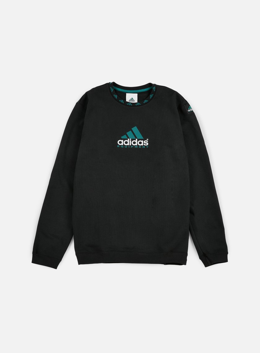 Adidas Originals - EQT Crewneck, Black