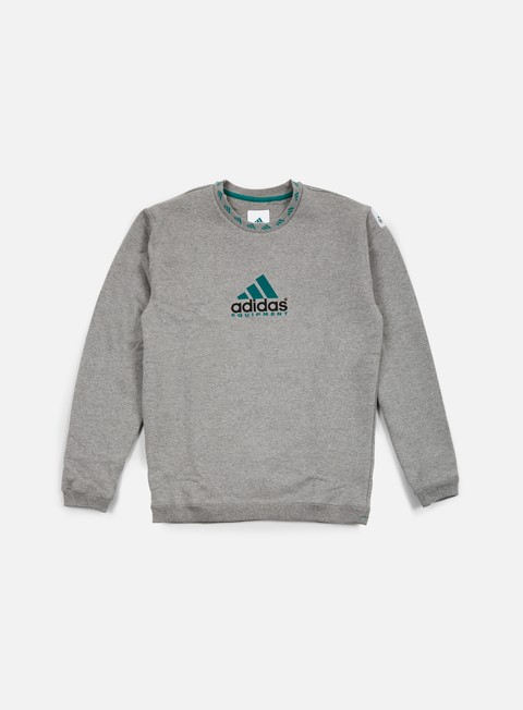 felpe adidas originals eqt crewneck core heather