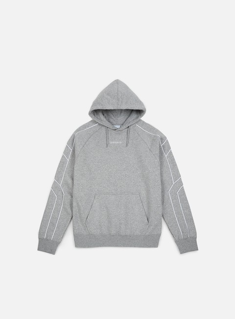 felpe adidas originals eqt outline hoodie medium grey heather