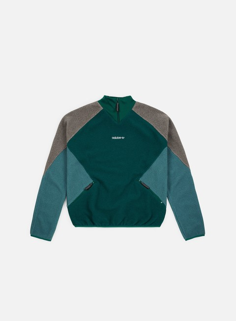 felpe adidas originals eqt polar jacket noble green