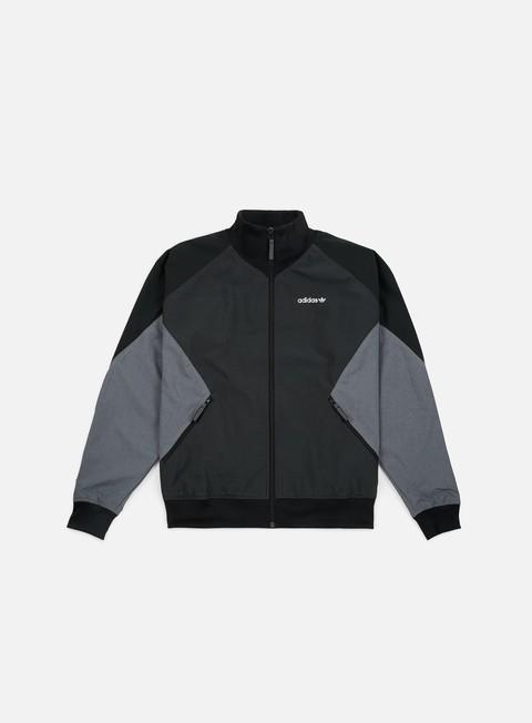felpe adidas originals eqt woven rip jacket carbon