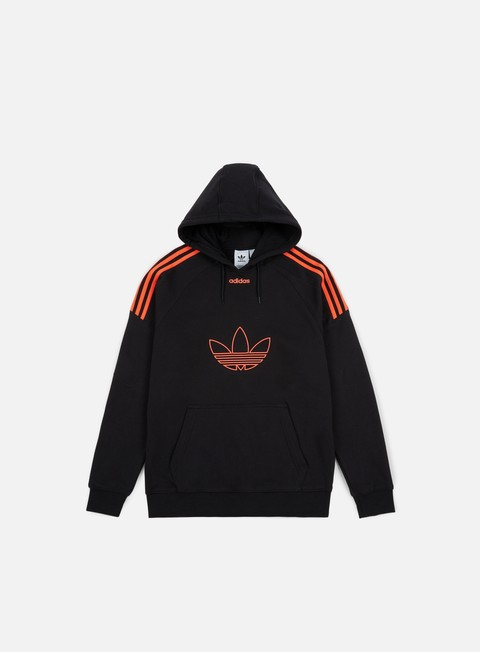 Hooded Sweatshirts Adidas Originals Flock Hoodie