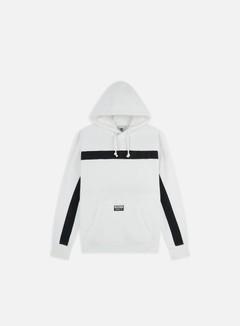 felpa adidas core 18 bianca