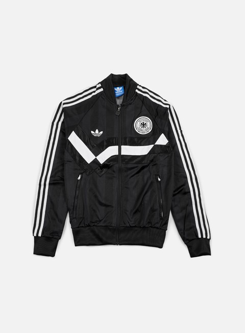 Outlet e Saldi Felpe con Zip Adidas Originals Germany Track Top