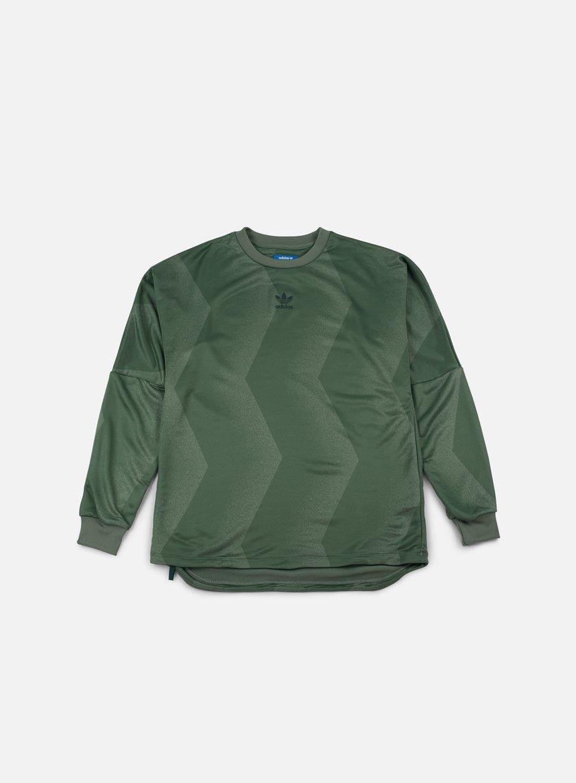 Adidas Originals - Goalie Nova Crewneck, Trace Green