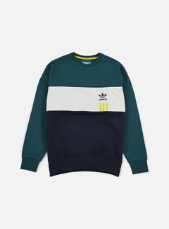 Adidas Originals - ID96 Crewneck, Utility Green 1