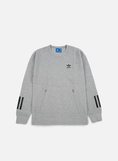 Adidas Originals - Instinct Crewneck, Medium Grey Heather 1