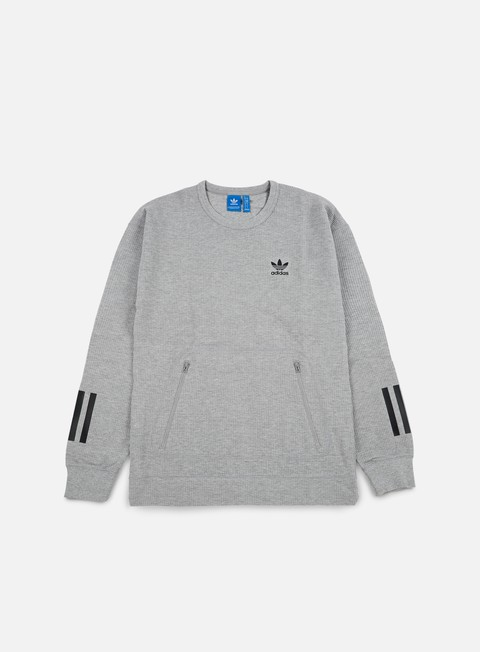 felpe adidas originals instinct crewneck medium grey heather
