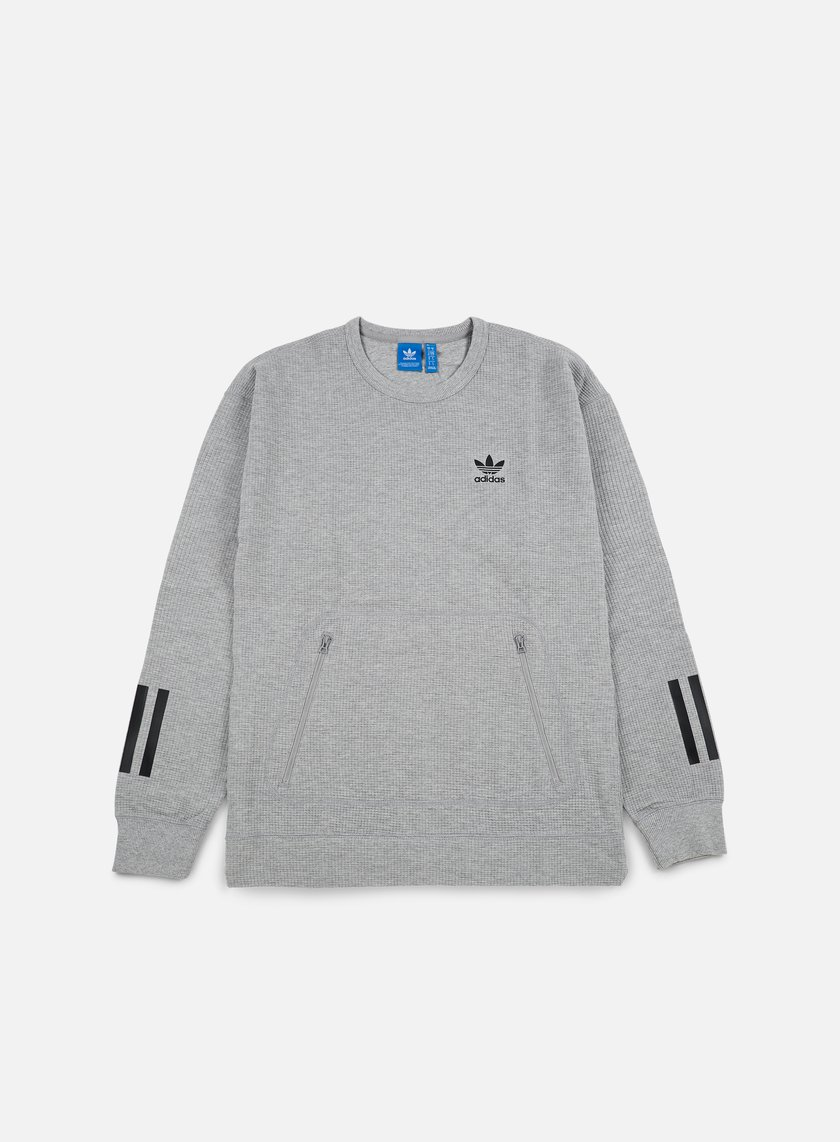 Adidas Originals - Instinct Crewneck, Medium Grey Heather