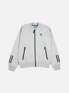 Adidas Originals - Instinct Superstar Track Jacket, Medium Grey Heather 1