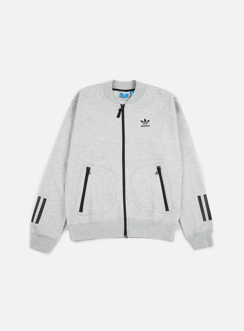 felpe adidas originals instinct superstar track jacket medium grey heather