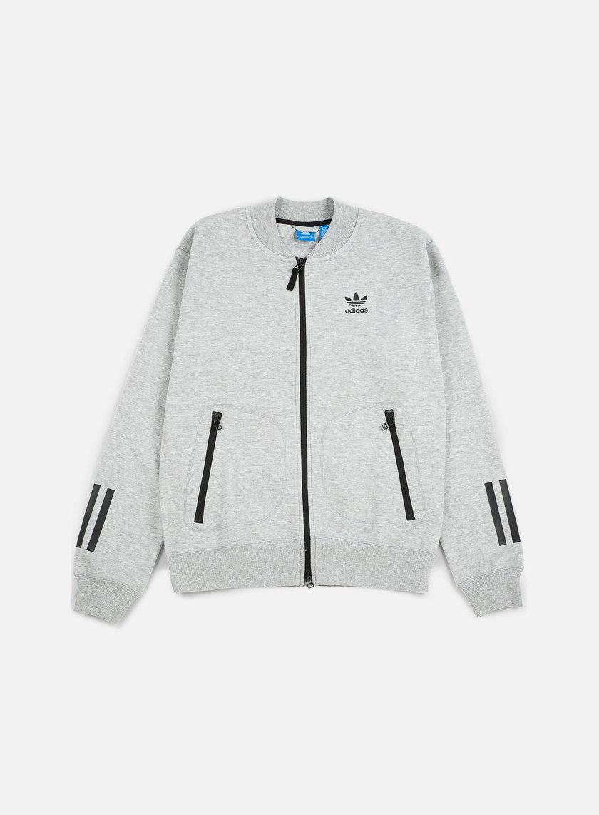 Adidas Originals - Instinct Superstar Track Jacket, Medium Grey Heather