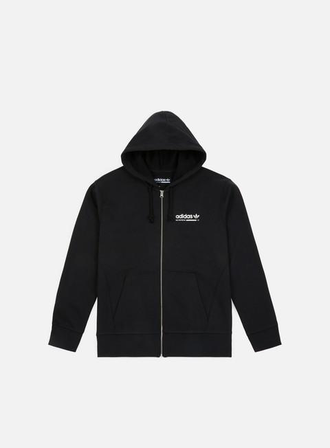 felpe adidas originals kaval full zip hoody black