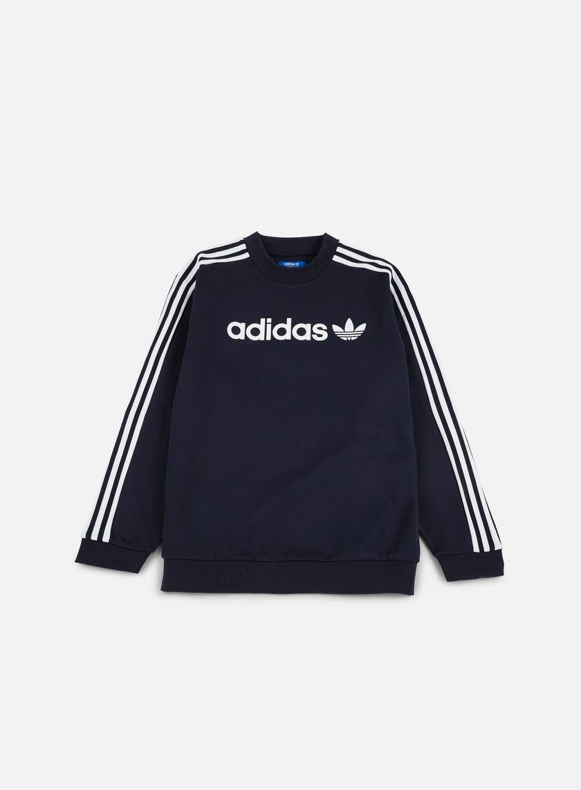 Adidas Originals - Linear Crewneck, Legend Ink