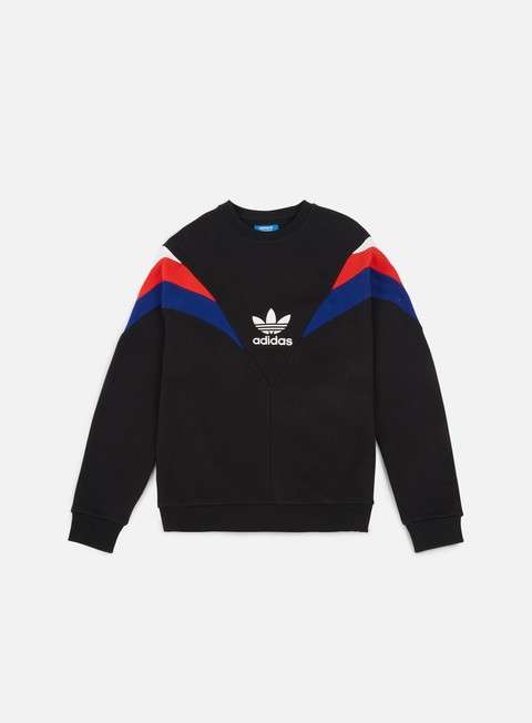 felpe adidas originals neva crewneck black