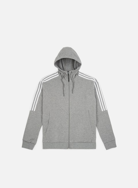 felpe adidas originals nmd full zip hoodie core heather