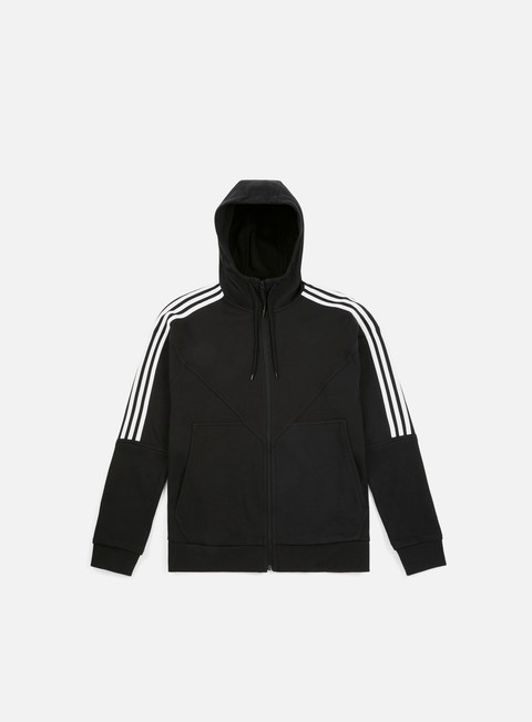 felpe adidas originals nmd hoody full zip black