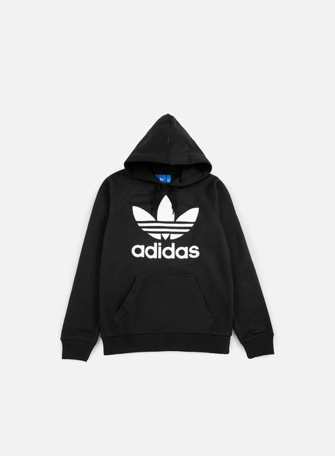 felpe adidas originals original trefoil hoodie black