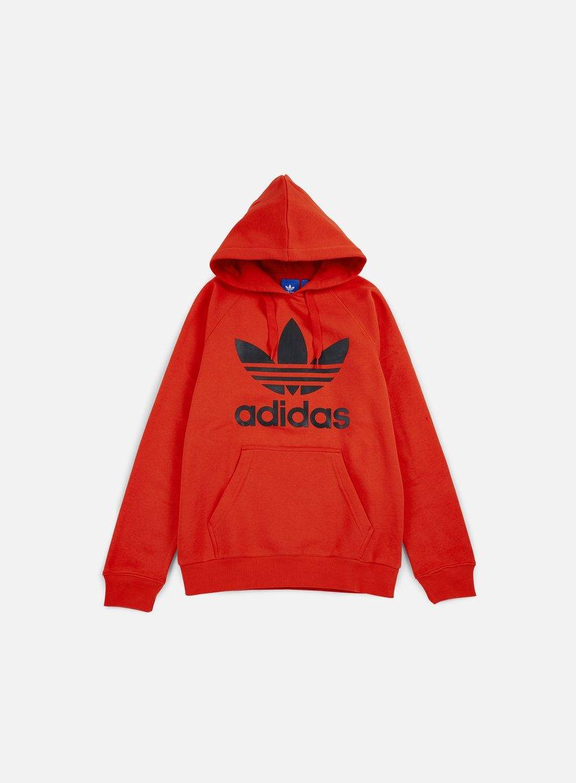 Adidas Originals - Original Trefoil Hoodie, Coral Red