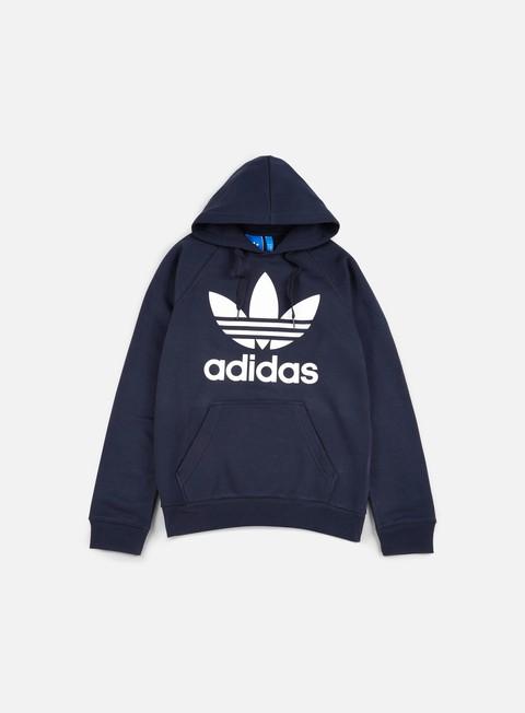 felpe adidas originals original trefoil hoodie legend ink