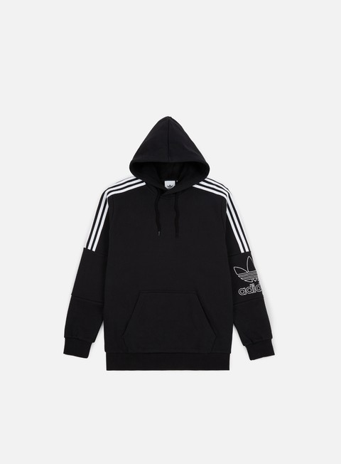 Hooded Sweatshirts Adidas Originals Outline Hoodie