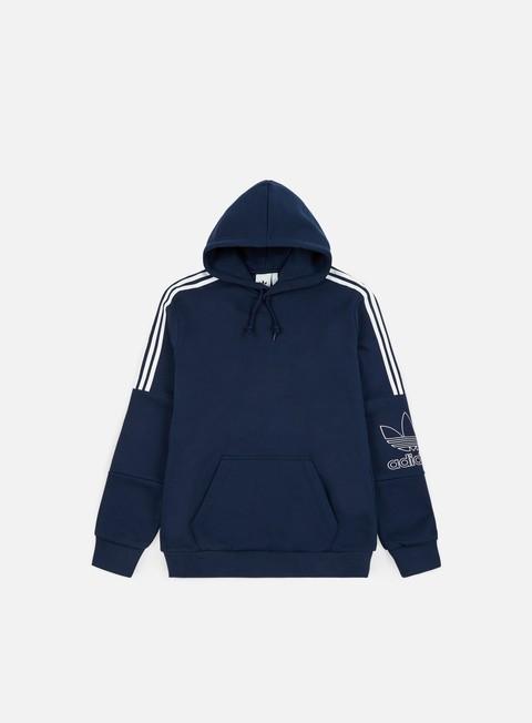 Felpe con Cappuccio Adidas Originals Outline Hoodie