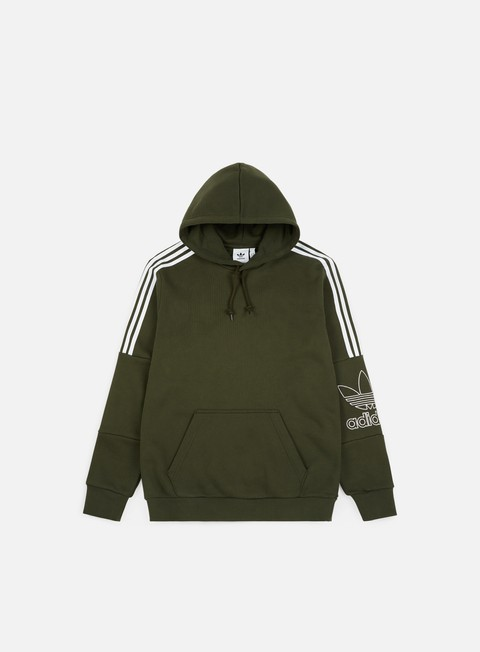 felpe adidas originals outline hoodie night cargo