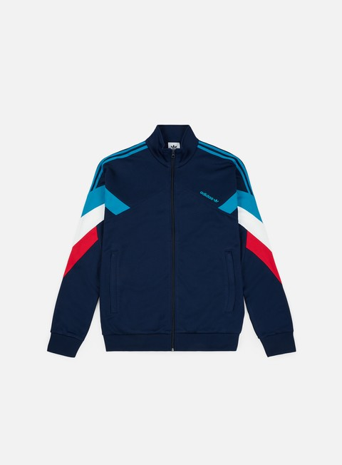 felpe adidas originals palmeston track top collegiate navy bold aqua