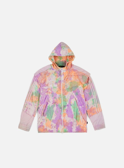 Outlet e Saldi Felpe con Cappuccio Adidas Originals Pharrell Williams HU Holi FZ Hoodie