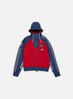 Adidas Originals - Pharrell Williams Hu Race Hoody, Scarlet/Night Marine 1