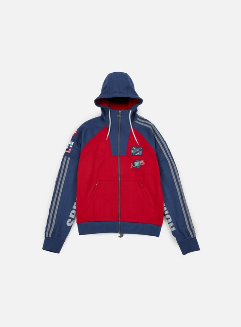 felpe adidas originals pharrell williams hu race hoody scarlet night marine
