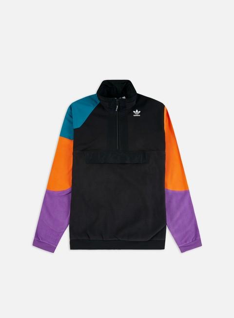 Sale Outlet Zip hoodie Adidas Originals PT3 Half Zip Sweatshirt