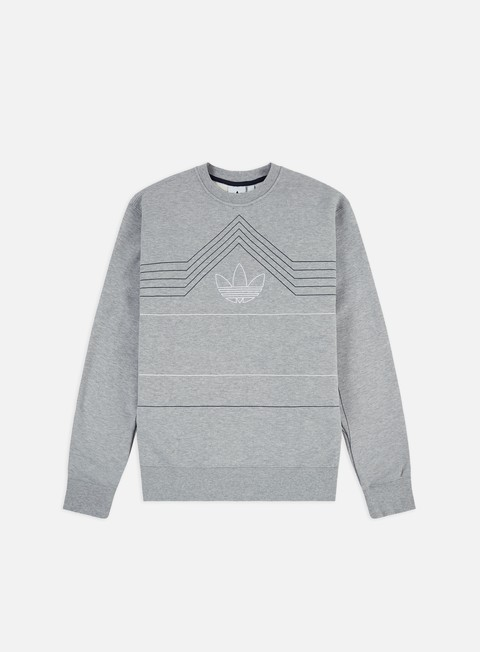 Outlet e Saldi Felpe Girocollo Adidas Originals Rivalry Crewneck