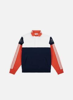 Adidas Originals - Rugby Sweatshirt, Collegiate Navy/Raw Amber