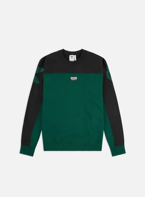 Felpe Girocollo Adidas Originals R.Y.V. Blkd Crewneck