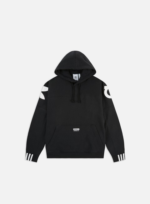 Hooded Sweatshirts Adidas Originals R.Y.V. Blkd Hoodie