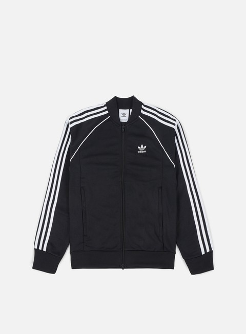 felpe adidas originals sst track jacket black