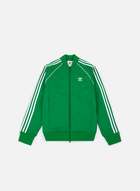 felpe adidas originals sst track jacket green