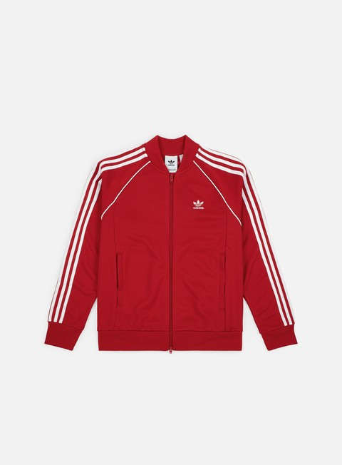 felpe adidas originals sst track top collegiate red