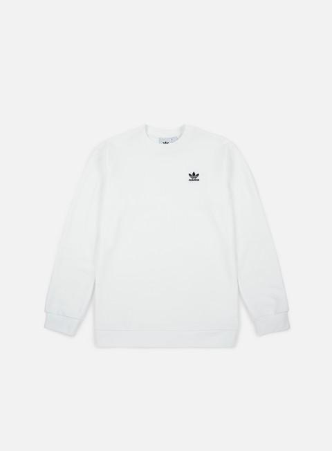 felpe adidas originals standard crewneck white