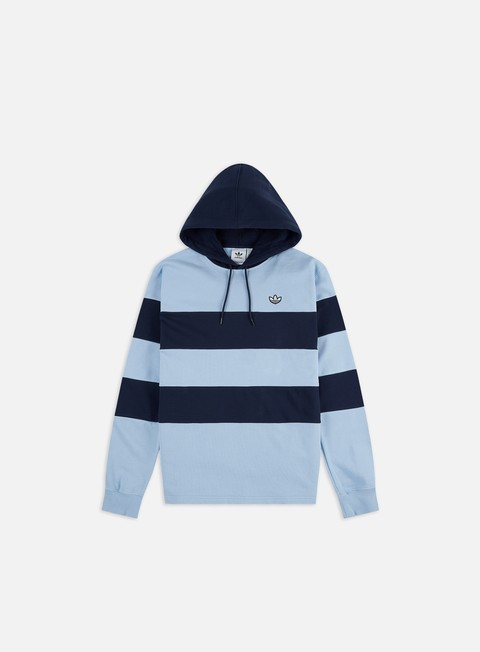Hooded Sweatshirts Adidas Originals Stripe Hoodie