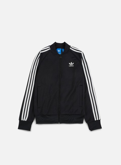 felpe adidas originals superstar track jacket black