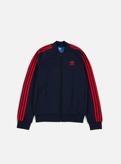 Outlet e Saldi Felpe con Zip Adidas Originals Superstar Track Jacket