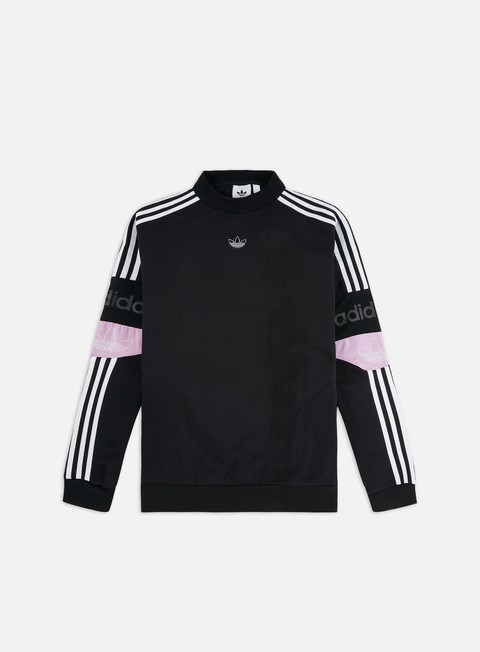 Outlet e Saldi Felpe Girocollo Adidas Originals Team Signature TRF Crewneck