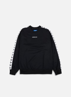 Adidas Originals - TNT Trefoil Crewneck, Black/White