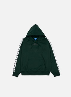 Adidas Originals - TNT Trefoil Hoodie, Green Night/White 1