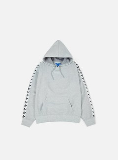 Adidas Originals - TNT Trefoil Hoodie, Medium Grey Heather/White 1