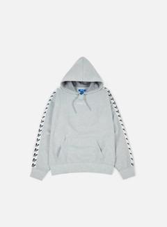 Adidas Originals - TNT Trefoil Hoodie, Medium Grey Heather/White 1