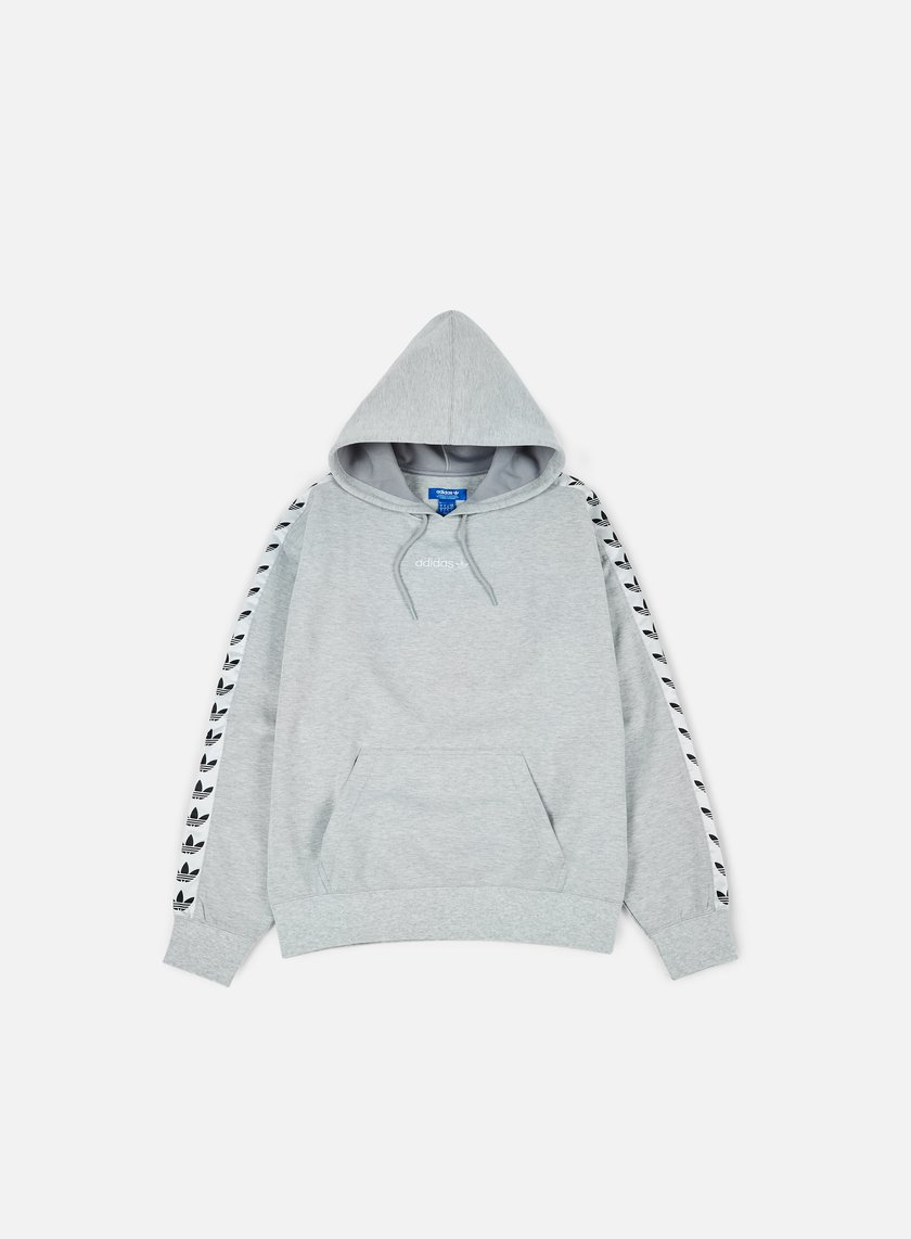 Adidas Originals - TNT Trefoil Hoodie, Medium Grey Heather/White