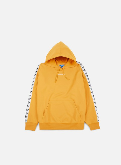felpe adidas originals tnt trefoil hoodie tacticale yellow white